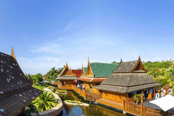 floating market siam park